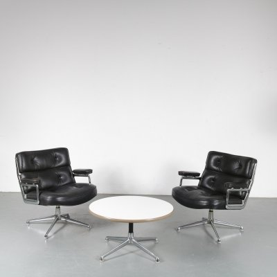 Time Life Lobby seating group by Charles & Ray Eames for Herman Miller, 1960s
