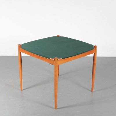 Gio Ponti Poker Table by Fratelli Reguitti, Italy 1960