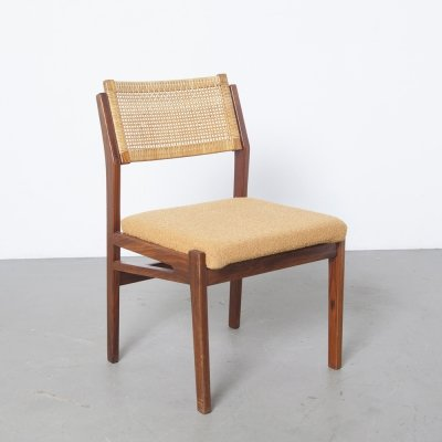 4 x TopForm Dining Room Chair with wicker back, 1960s