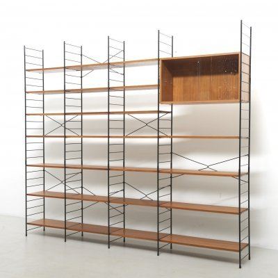Shelving System in Teak by WHB, Germany 1960's