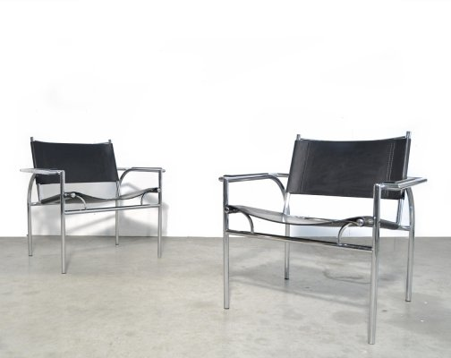 Vintage modern design chairs by Gerard Vollenbrock for Gelderland, 1970s
