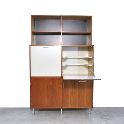 'Made to measure' sideboard/secretary by Cees Braakman for Pastoe, 1960s