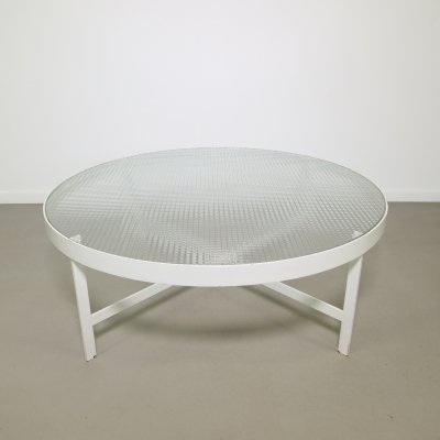 Rare modernistic coffee table by Janni van Pelt, 1950s