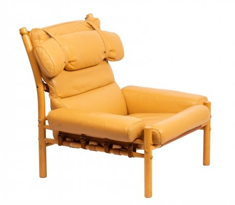 Arne Norell Inca lounge chair by Norell Möbel AB, 1960s