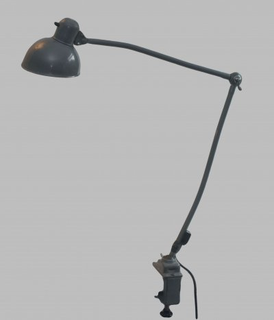 Kaiser Idell 6726 clamp desk lamp by Christian Dell, 1950s