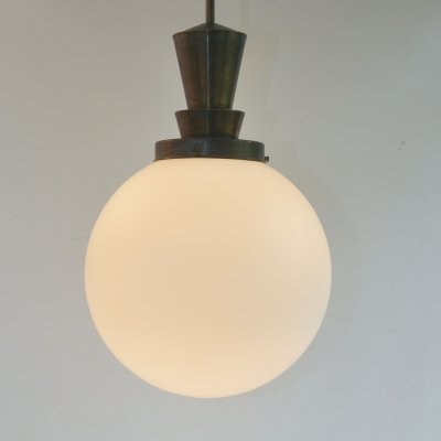 4D hanging lamp by W. Gispen for Giso, 1930s