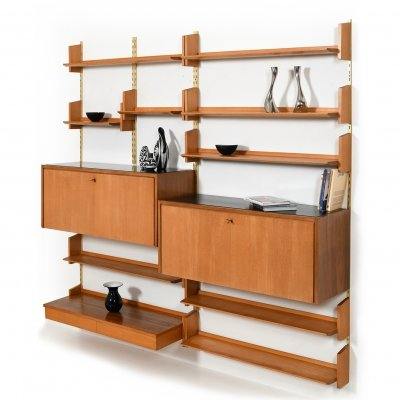 Early '60s Shelving System by Dieter Reinhold for WK Möbel