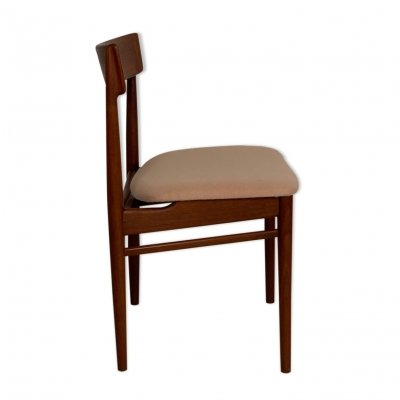 Danish teak dining chair by Henry Rosengren Hansen