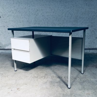Gispen 3803 Small Metal Writing Desk by Andre Cordemeyer, 1950's