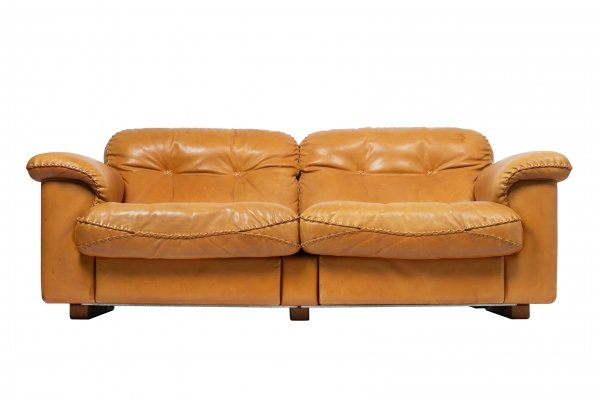 De Sede DS-101 2 seats sofa, 1960s