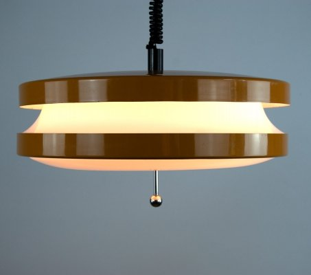 Extendable Space Age hanging lamp, 1960s