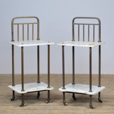 Pair of night stands, 1920s