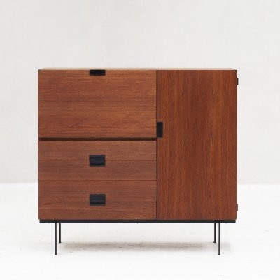 Bar cabinet 'CU01' by Cees Braakman & for Pastoe, Holland 1958