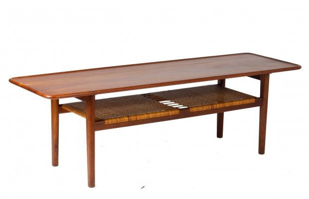 AT-10 Coffee Table by Hans J Wegner for Andreas Tuck, 1950s