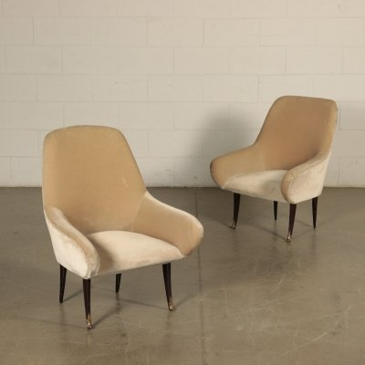 Pair of 1950s Italian Armchairs