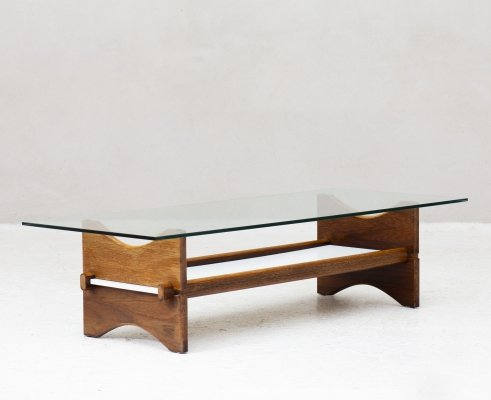 Sculptural coffee table, 1970's