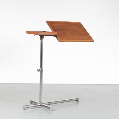 Francois Caruelle Adjustable Reading Table, France 1929