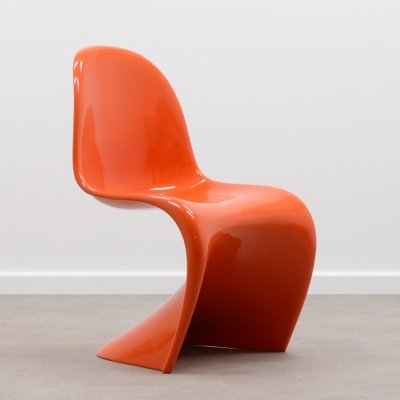 Rare 1st edition Panton chair by Verner Panton for Herman Miller, 1968