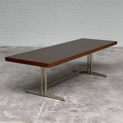Rectangular Rosewood Coffee Table by Topform, Netherlands 1960s