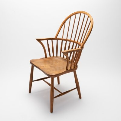 CH-18A Windsor Chair by Frits Henningsen for Carl Hansen & Son, Denmark 1940s