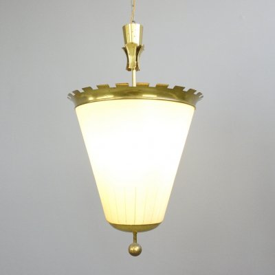 Large German Theatre Lobby Light, Circa 1920s