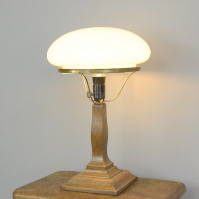 Art Nouveau Danish Table Lamp, Circa 1910