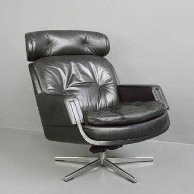 Mid Century Lounge Chair by Kurt Hvitsjö for Isku, Circa 1960s