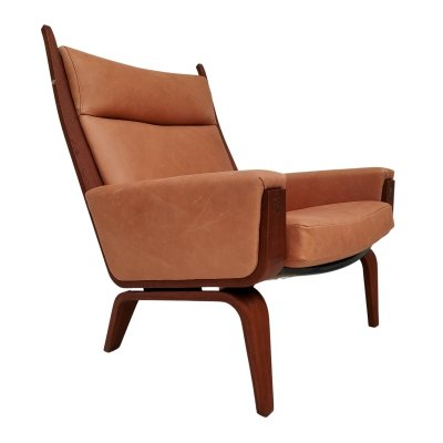 GE 501a arm chair by Hans Wegner for Getama, 1970s