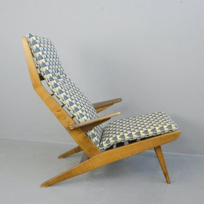 Lounge Chair by Rob Parry for Gelderland, Circa 1950s