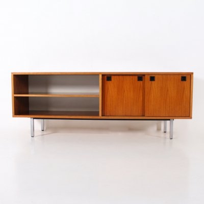 Rosewood low buffet with adjustable feet by Alfred Hendrickx for Belform, 1960's