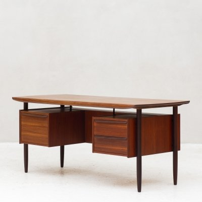 Writing desk from the 'Propos' series by Tijsseling for Hulmefa, Holland 1960