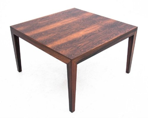 Danish design coffee table in rosewood, 1960s