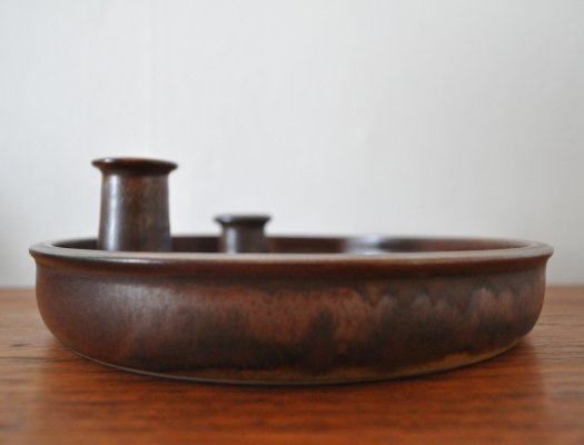 Candle holder by Kaj Henning Jensen for KH Keramik, 1970s