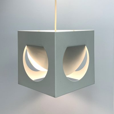 Mid-Century Finnish Geometric Pendant Lamp by Shogo Suzuki for Stockmann-Orno