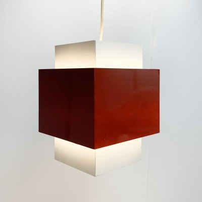 Hanging lamp by J. Hoogervorst for Anvia Almelo, 1960s