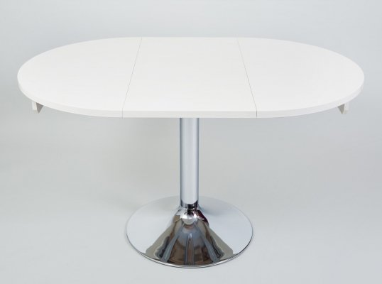Chrome Czech Bauhaus Extendable Table by Kovona, 1970s