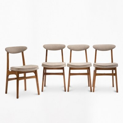 Set of 4 type 200-190 chairs, 1960s
