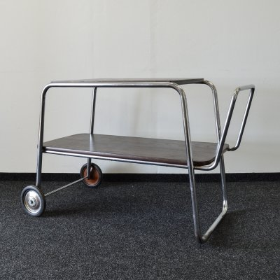 Serving Cart by Robert Slezak for Kovona, 1940's