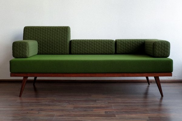 Vintage Czechoslovak Bed / Sofa, 1960s