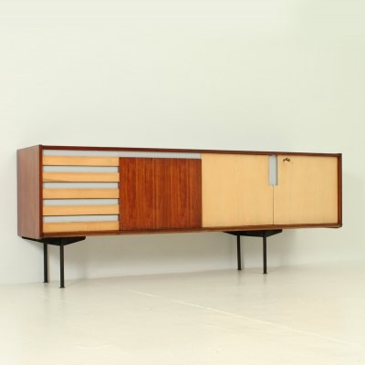 Coloured Italian Sideboard, 1950's