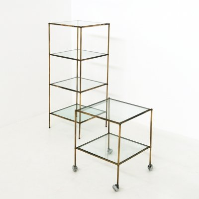 Set of Mod. T 12 Side Tables by Corrado Corradi dell'Acqua for Azucena, 1950s