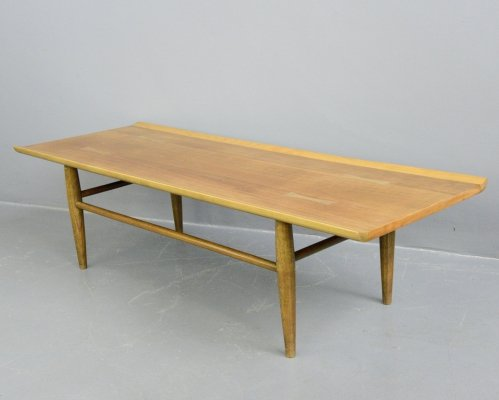 Mid Century Surfboard Coffee Table by Baumritter, Circa 1950s