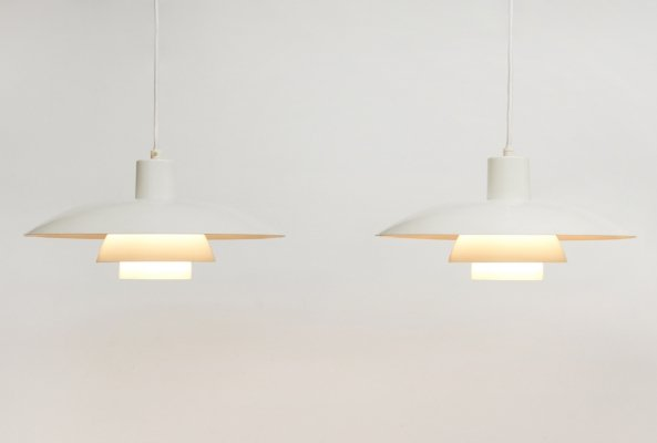 Pair of PH4/3 hanging lamps by Poul Henningsen for Louis Poulsen, 1960s