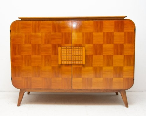 Mid century cataloque sideboard by Jindrich Halabala for UP Zavody, 1940's