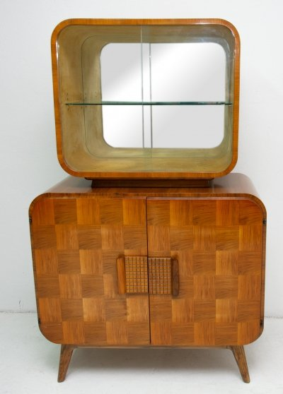 Mid century cataloque display case by Jindrich Halabala for UP Zavody, 1940's