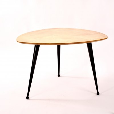 Cees Braakman for Pastoe model TB16 birch coffee table, 1950s