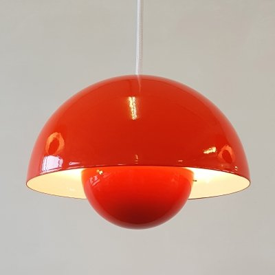 Flowerpot hanging lamp by Verner Panton for Louis Poulsen, 1960s
