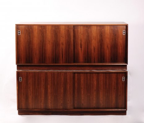 Matching pair of rosewood sideboards by Arne Vodder for Sibast