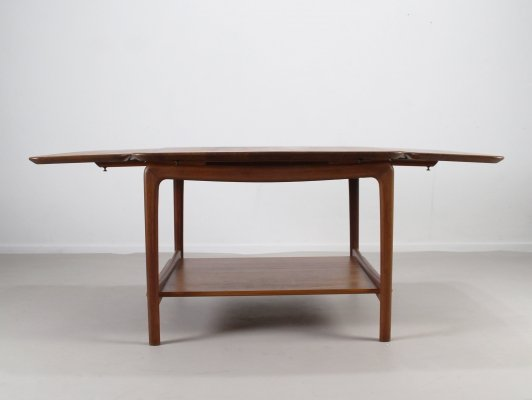 Double drop leaf table by Peter Hvidt for France & Daverkosen