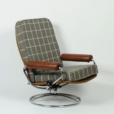 Ekornes Stressless recliner chair, 1960s
